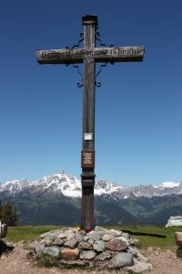 Gipfelkreuz am Rossbrand