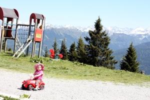 Spielplatz bei der Radstätterhütte am Rosbrand