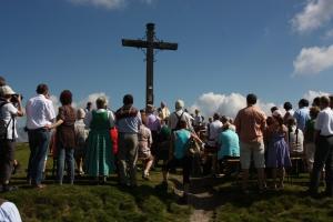 Feierlicher Gottesdienst auf über 1600 m Seehöhe