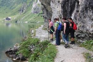 Wanderung zum Tappenkarsee