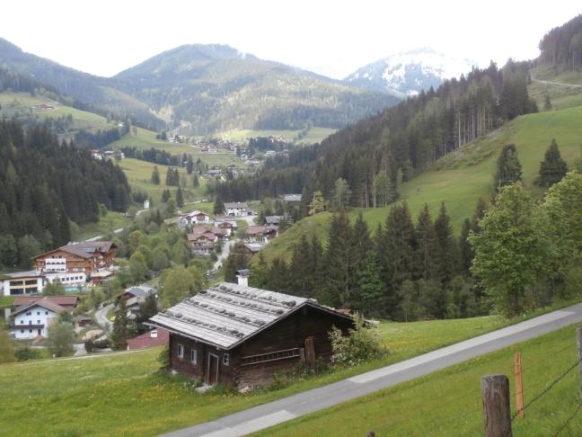 Wandern in Filzmoos - Altes Richlegghof Bauernhaus ein echter Fotopoint