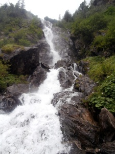 Wasserfall beim Steirischen Bodensee
