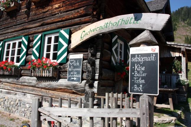 Gschwendthofhütte in Untertauern