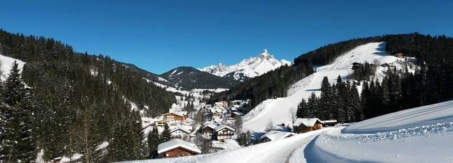 winterlicher Blick auf Neuberg