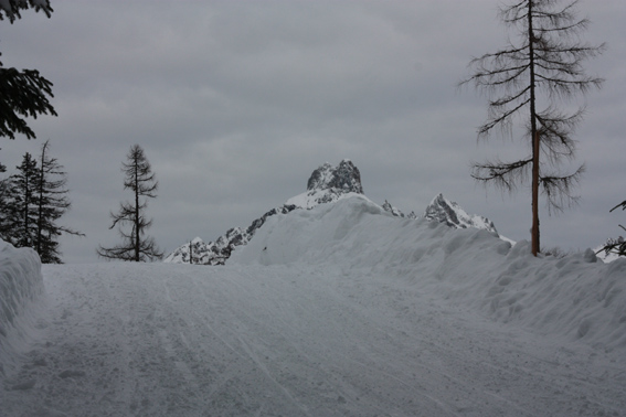 herrliches Panorama beim Aufstieg zur Kleinbergalm