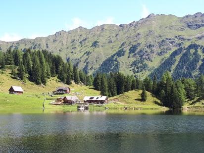 Duisitzkarsee der Bergsee in den Schladminger Tauern
