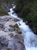 Wandern am Wasser - die Silberkarklamm
