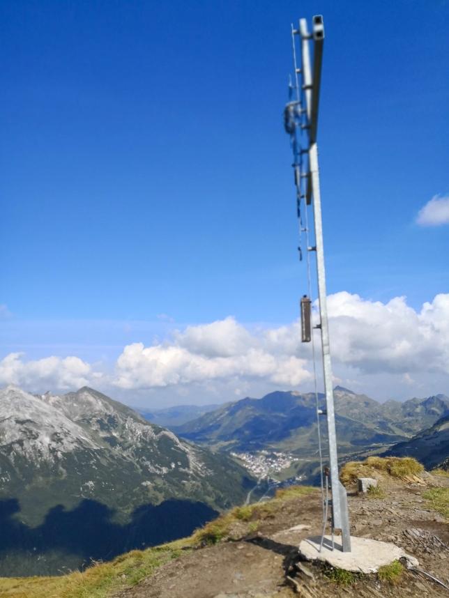Die Gollitschspitze mit Blick auf Obertauern