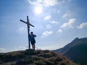 Am Gipfel der Gollitschspitze