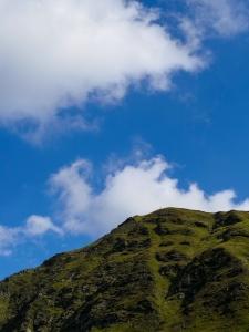 Da geht's rauf - Gollitschspitze 2.328 m