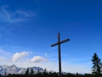 Gipfelkreuz am Gerzkopf